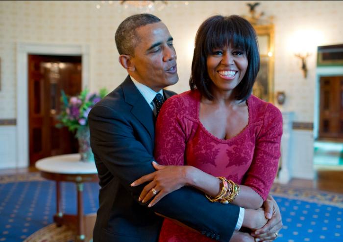 Michelle Obama en pleines formes