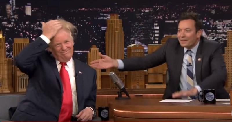 Donald Trump a t-il une perruque?