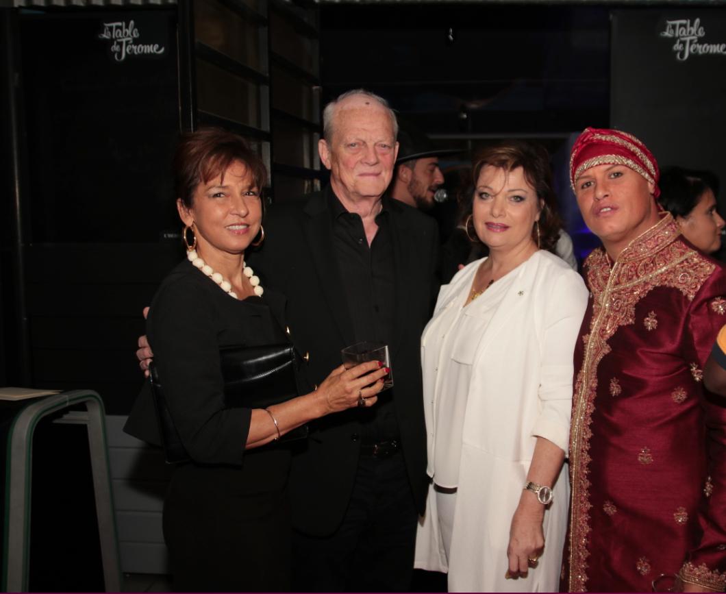 Chantal d'Allanbac, Michel Deleflie, Jeanne Loyher et Christophe