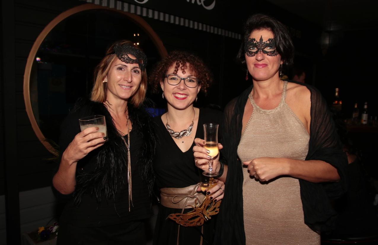 Sandra Dargelas, Lise Rivière et Anne Lebevre