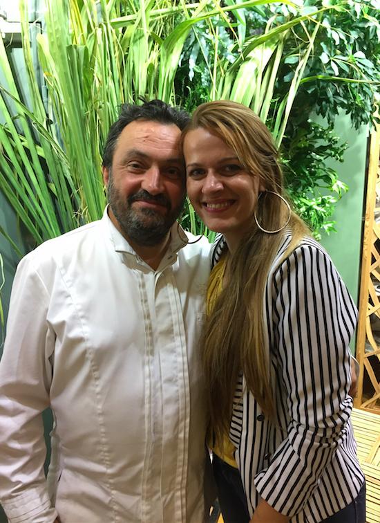 Yves Camdeborde, le grand prêtre de la Bistronomie et Sarah Hugon Manglou de l'IRT