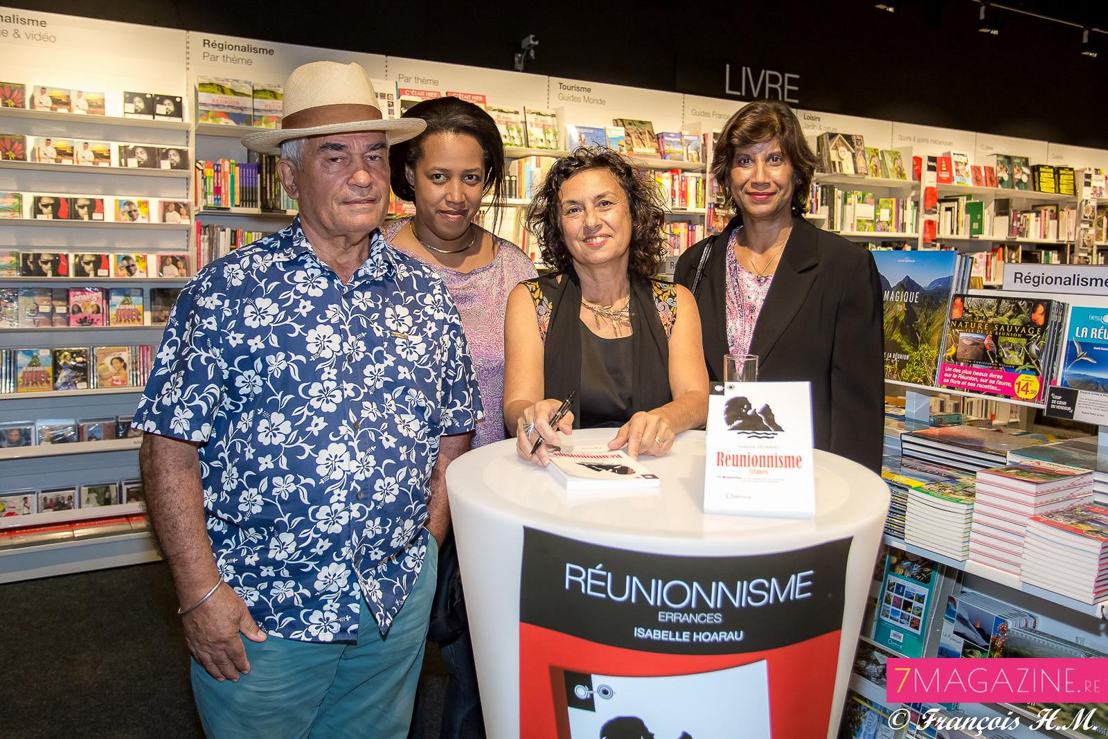 Isabelle Hoarau, auteure, était l'invitée d'honneur de la soirée