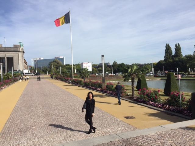 Azuima Issa est à Bruxelles