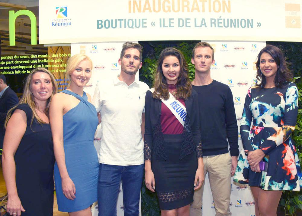 Boutique Ile de La Réunion à Paris: inauguration en fanfare!