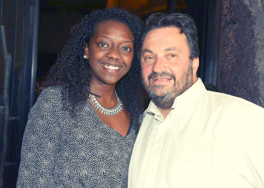 Tania Imache et Yves Candeborde