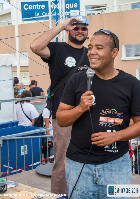 William Colter, président de l'association, et Frédéric Dorla, vice-président, très satisfaits de ce déplacement au Cap d'Agde