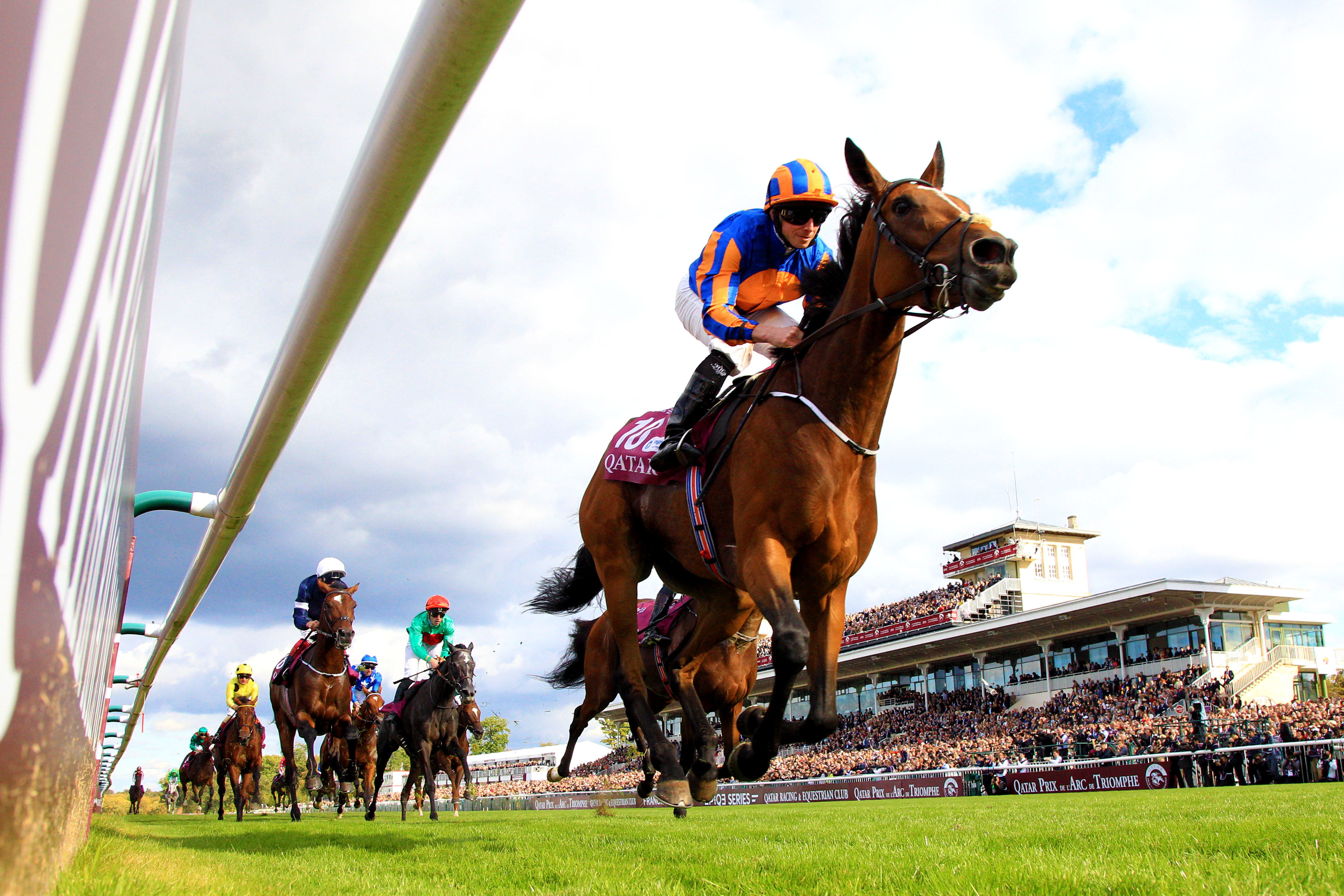 Qatar Prix de l'Arc de Triomphe: l'Irlandaise Found crée la surprise et remporte l'Arc!