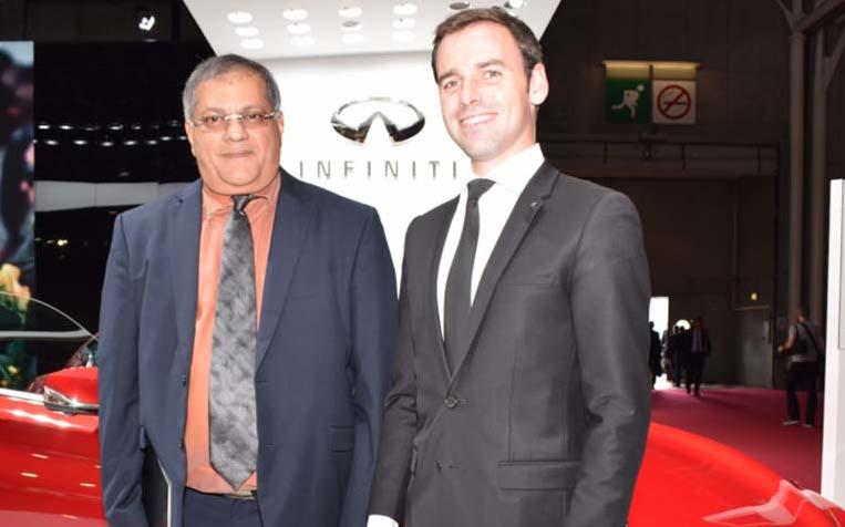 La marque automobile de luxe Infiniti bientôt à La Réunion!