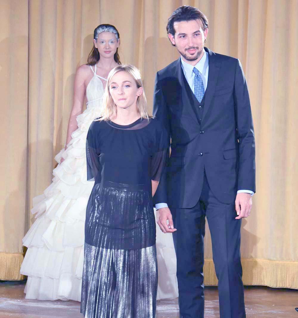 Manon Gabard, la directrice de la collection, et Arnaud Hoarau
