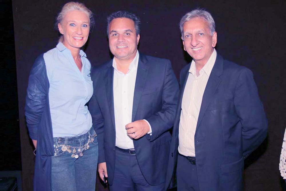 Catherine Ronin, Didier Robert et Aziz Patel
