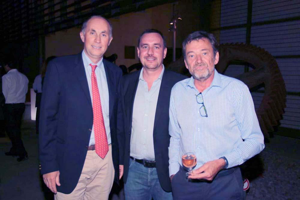 Daniel Moreau, Laurent Blériot et Jean-Philippe Vandercamer