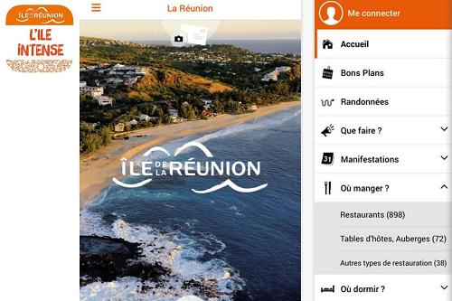 """""""La Réunion, l'île intense"""": La nouvelle appli pour des vacances réussies"""