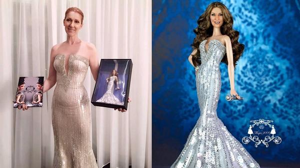 Céline Dion n'aime pas la Barbie à son effigie...