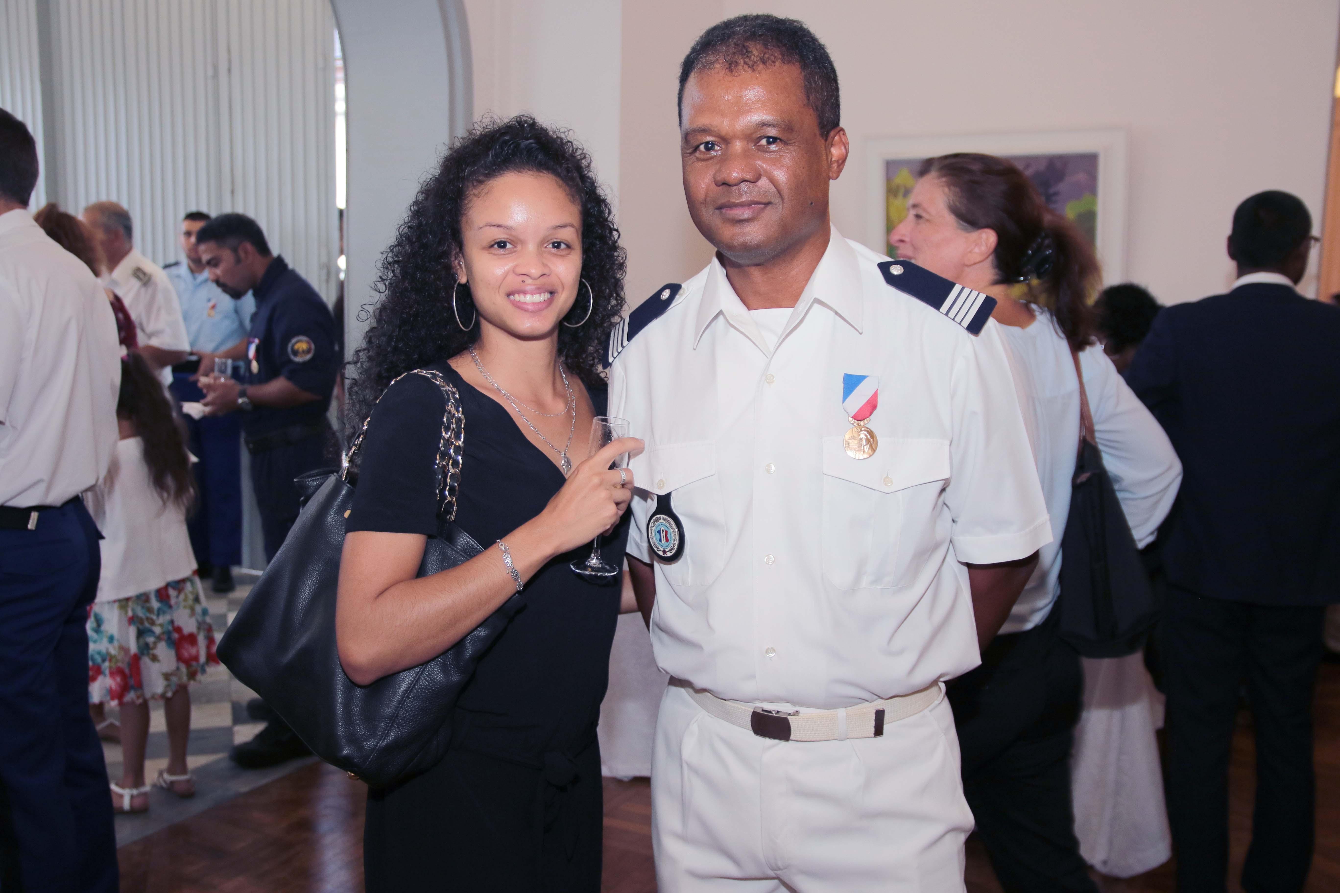 Benjamin Brézé et sa fille