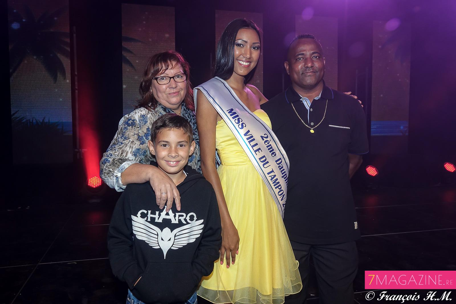 Karen et sa famille