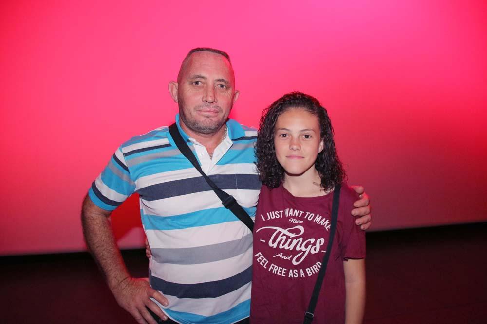 Malorie et son père
