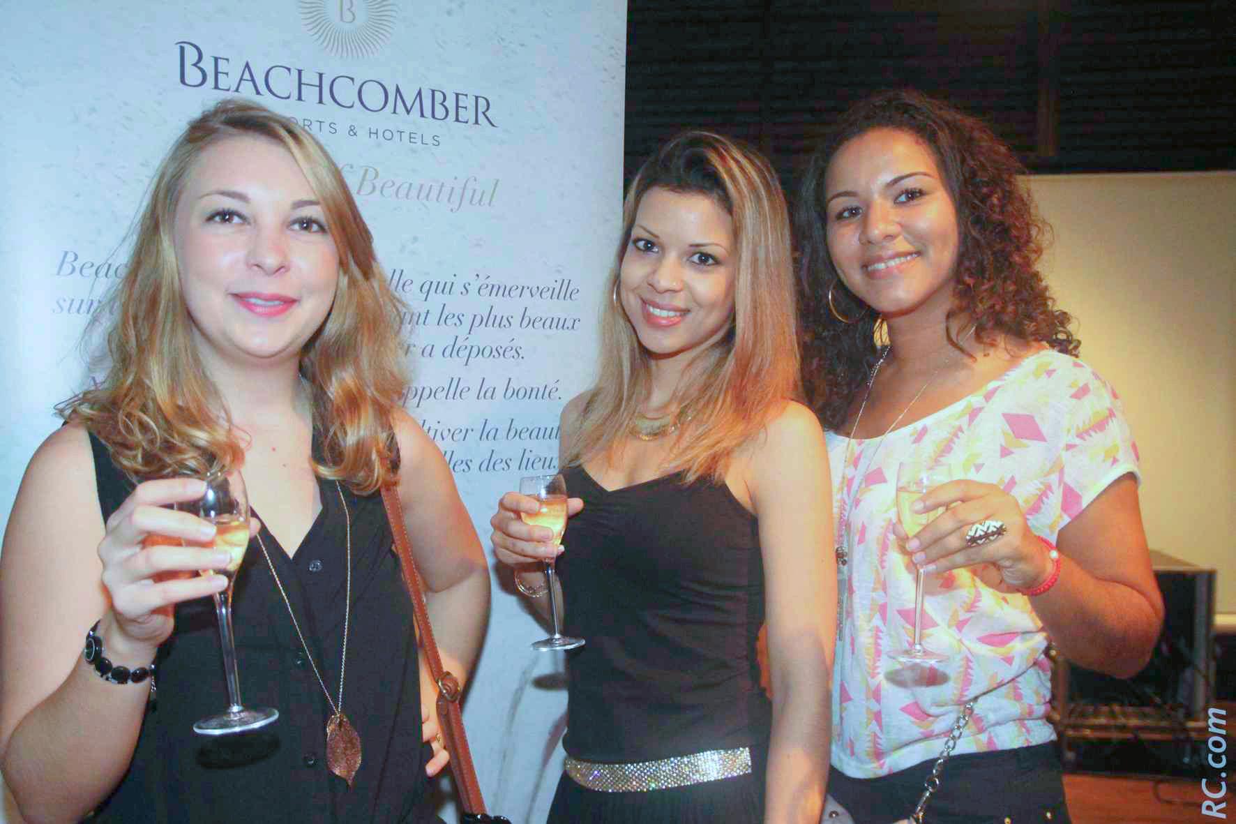 Agathe Besomi, Audrey Grondin et Annaëlle Ramin de Transcontinents