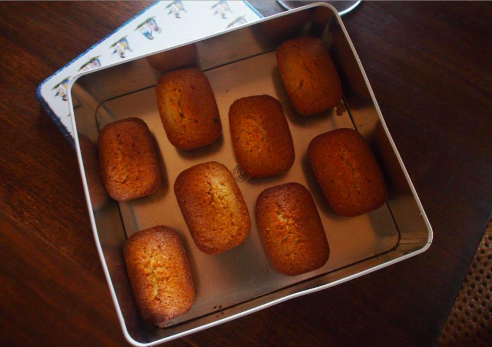 Les minis cakes au punch coco de Jojo