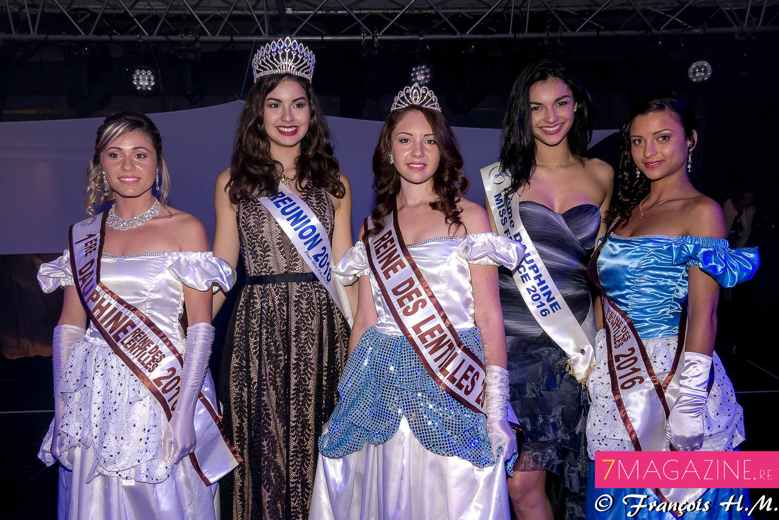Avec Miss Réunion 2015 et 2016