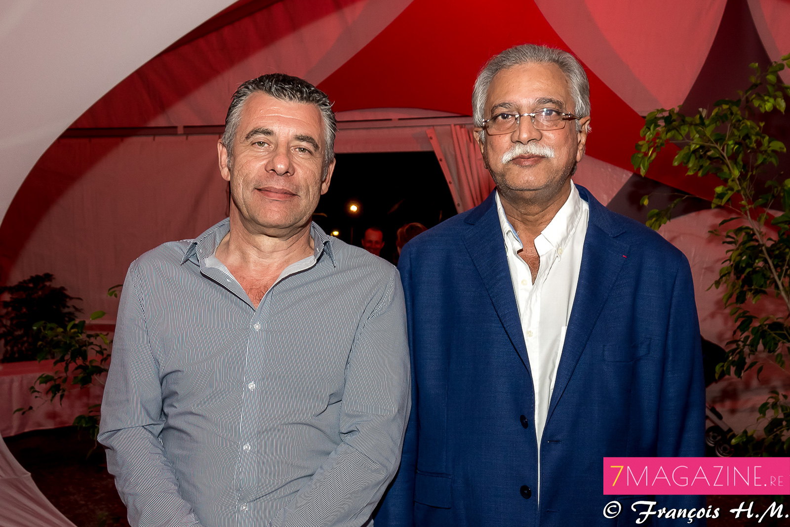 Michel Anselme et Younous Omarjee