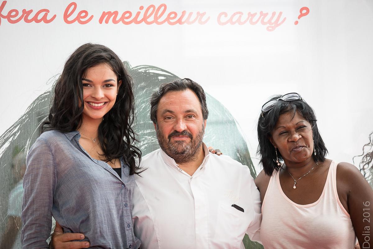 Azuima Issa, Yves Camdeborde et Sonia Ledez