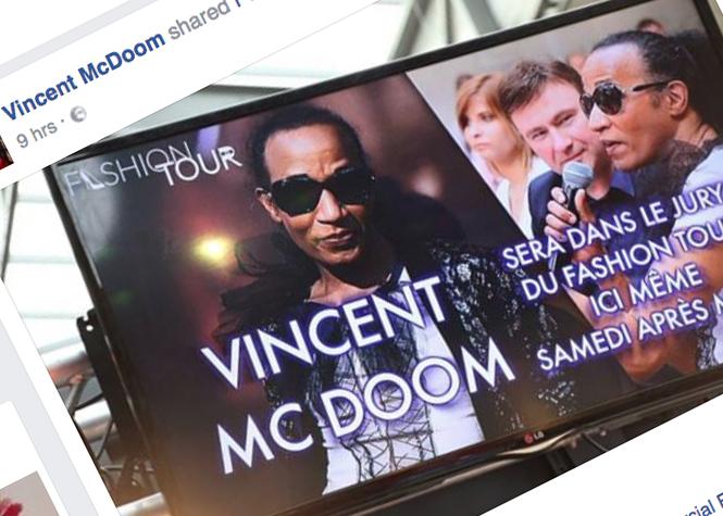 """Vincent McDoom:  """"je ne suis pas une machine à buzz"""""""