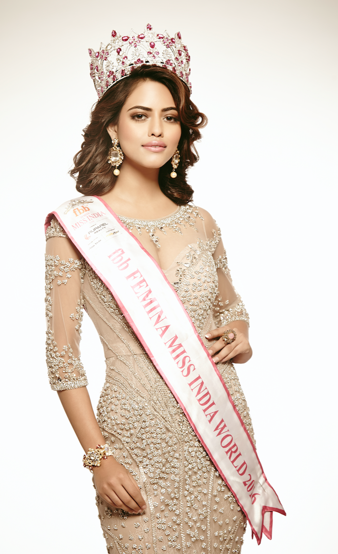 Miss India 2016 en visite à La Réunion