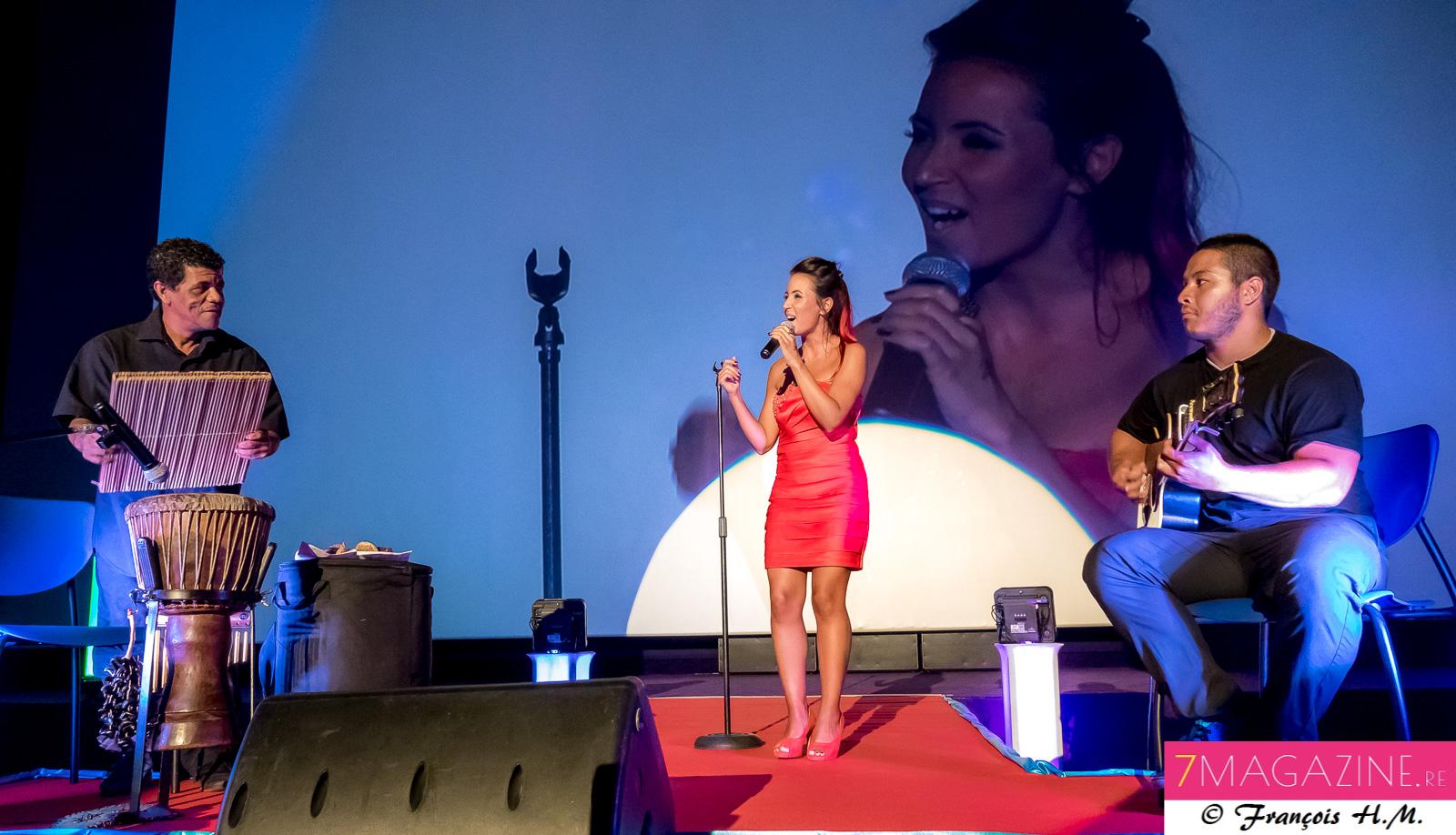 Audrey Dardenne et sa superbe voix jazzy