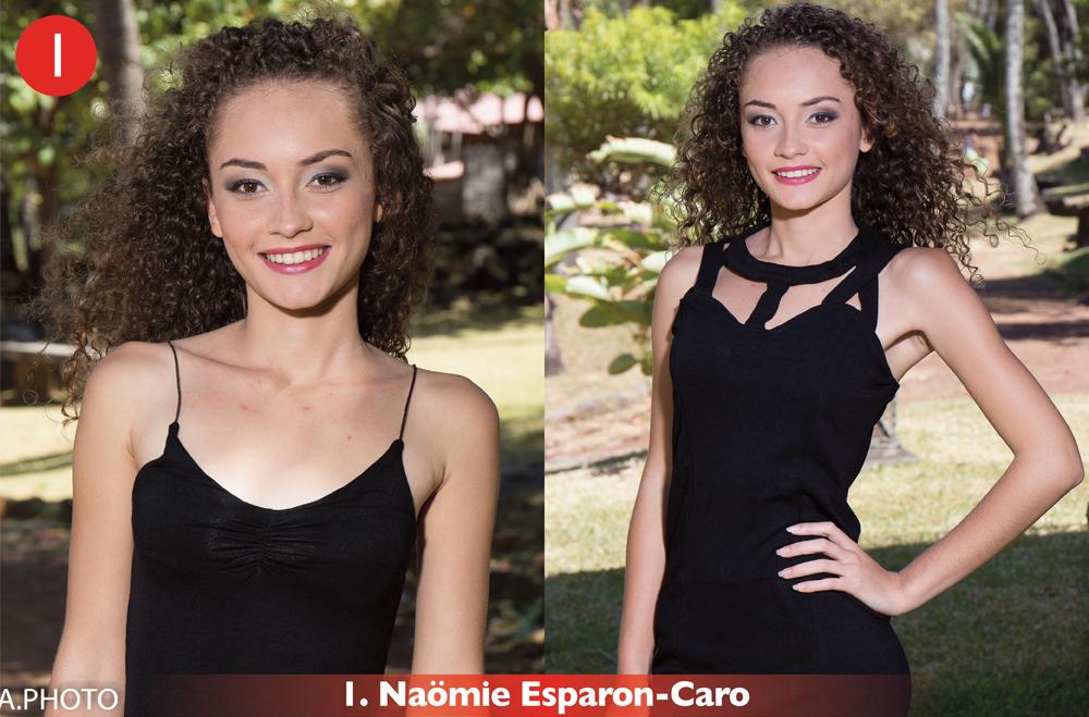 N°1:  Naömie Esparon-Caro