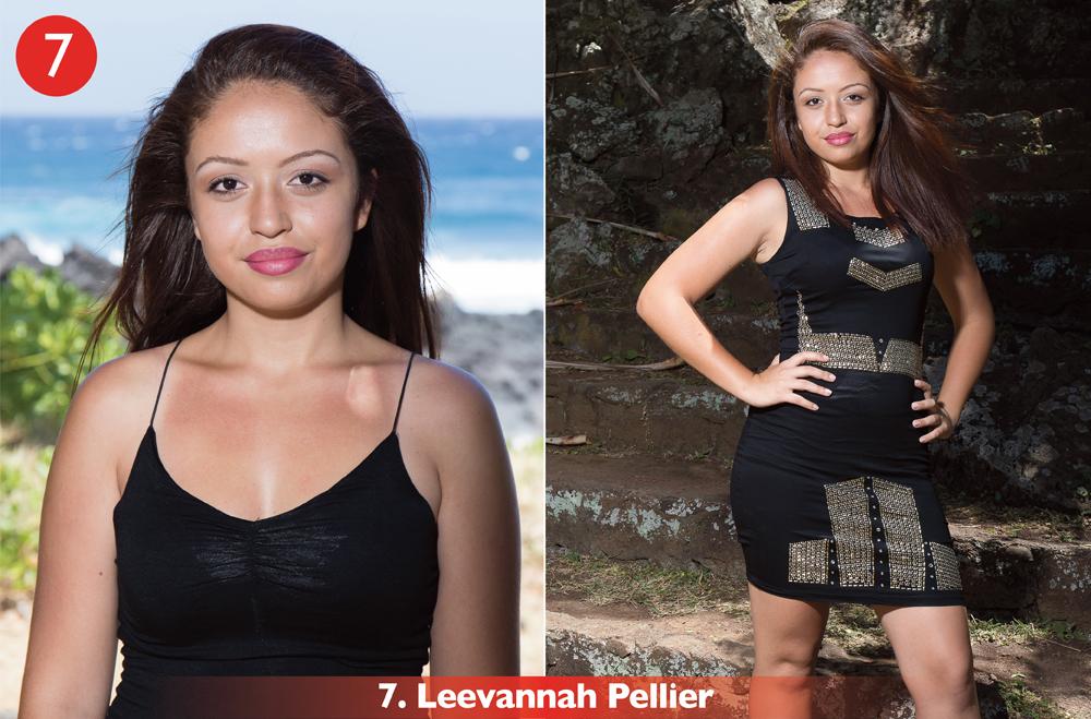 N°7: Leevannah Pellier