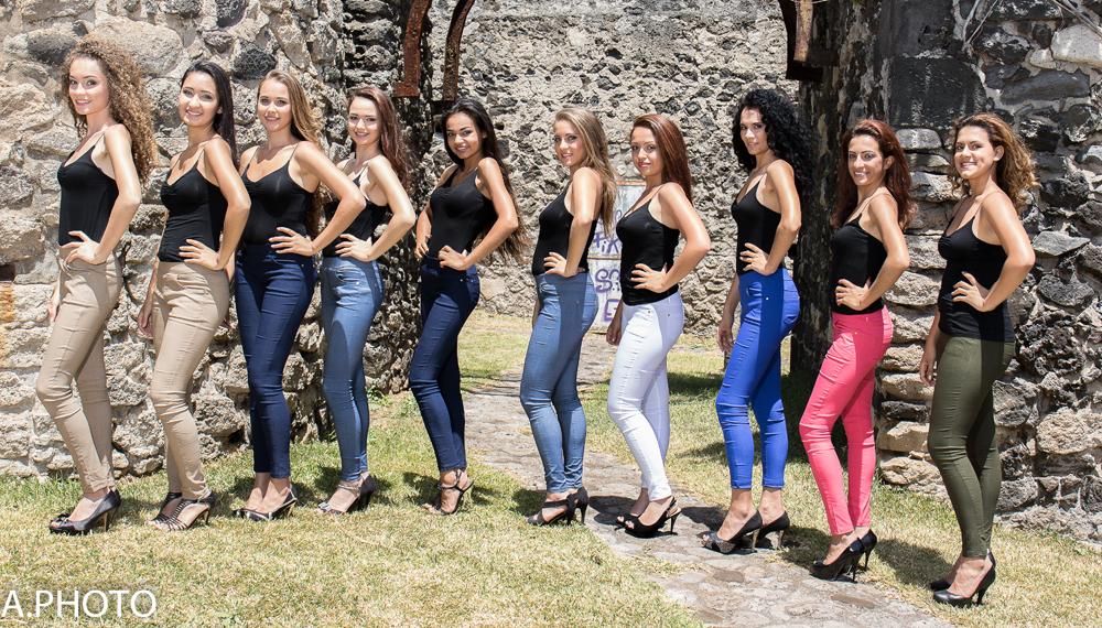 Les 10 candidates: l'une d'elles sera couronnée Miss Saint-Joseph le 10 novembre