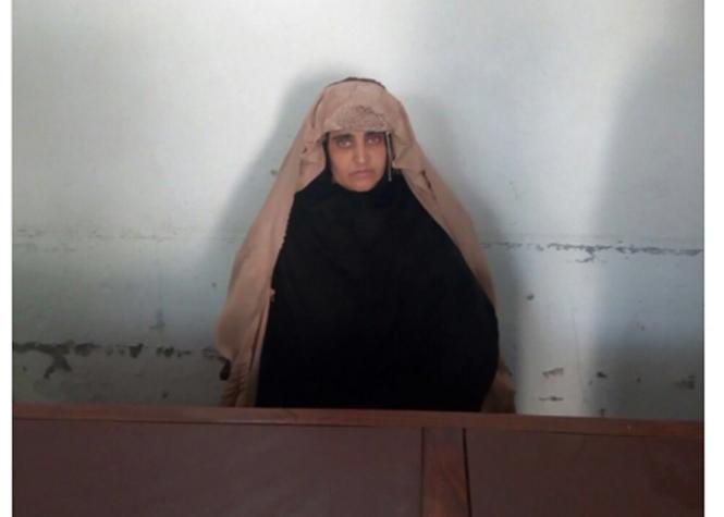 La fameuse afghane aux yeux verts sera libérée