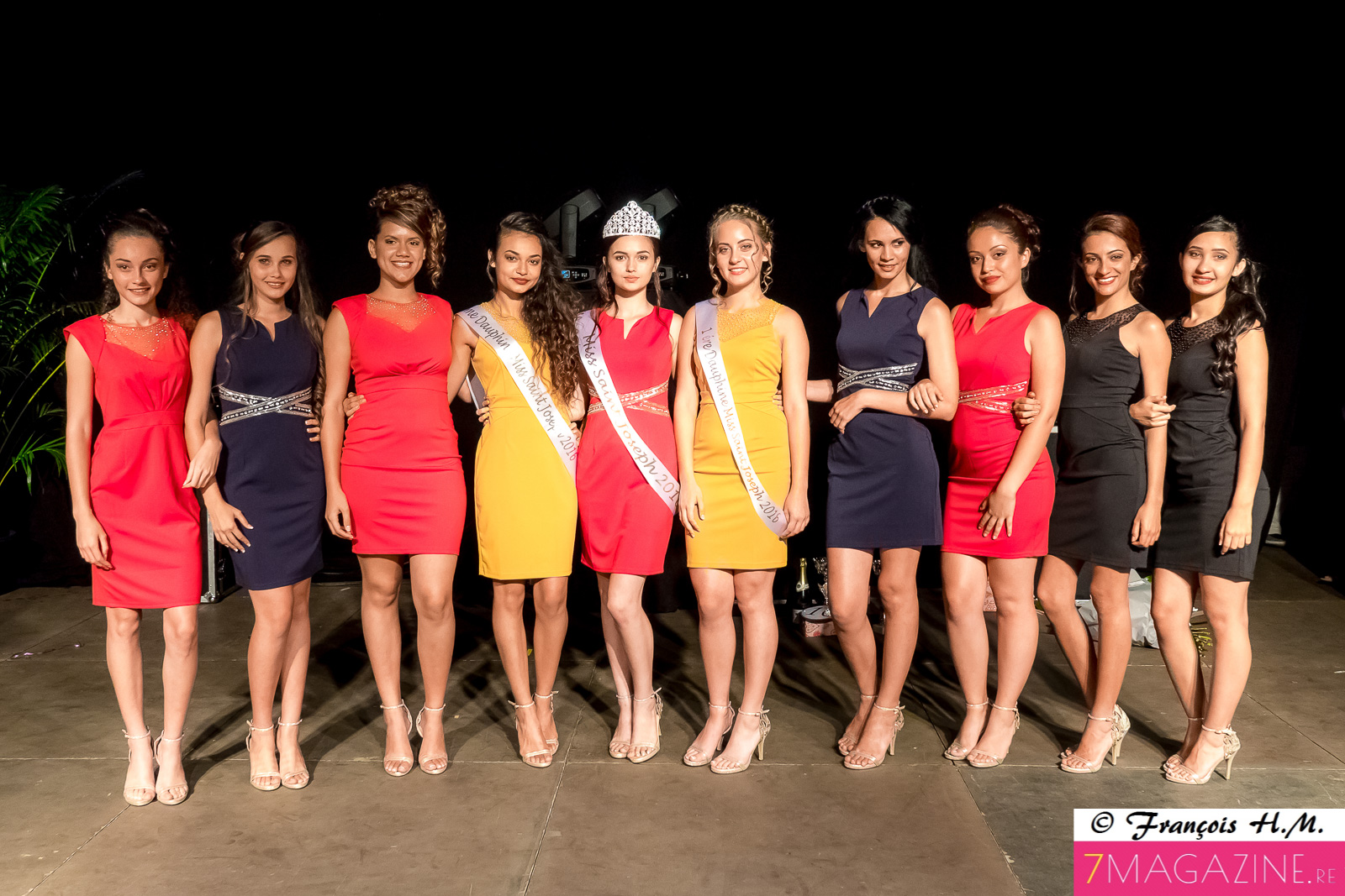 Les 10 candidates Miss Saint-Joseph 2016
