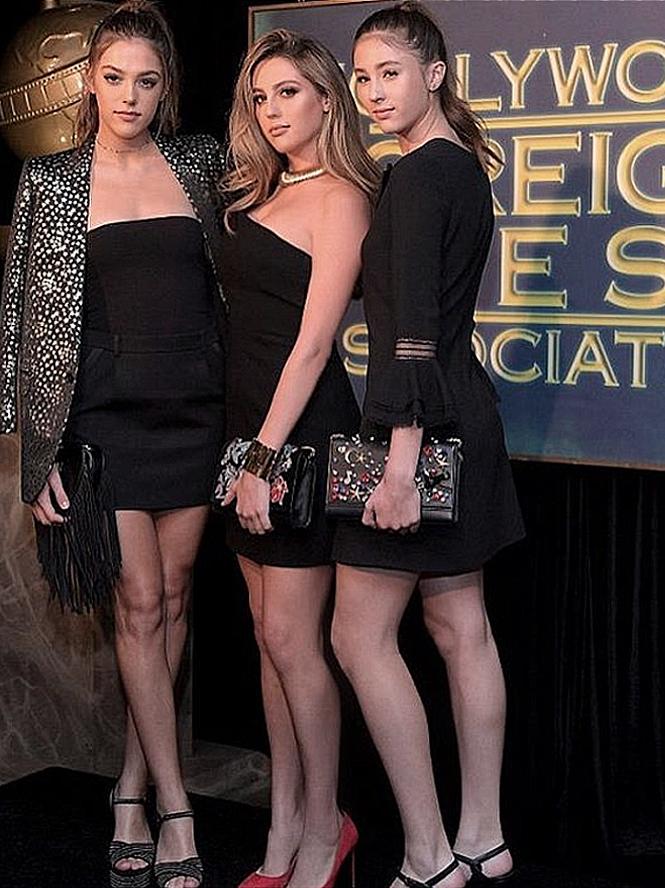 Les trois filles de Rocky nommées aux Golden Globes