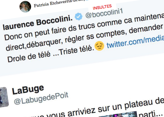 Critique envers Hanouna, Laurence Boccolini reçoit des insultes
