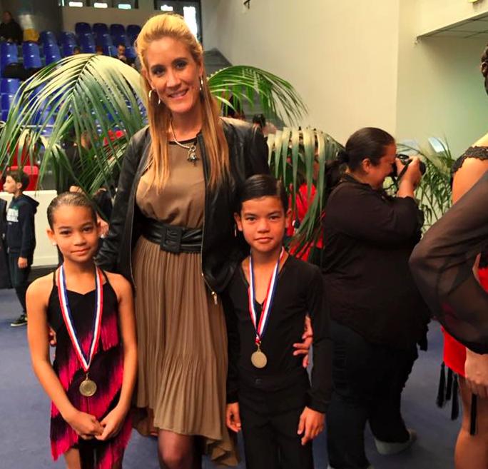 Vanessa Cazal, le professeur des enfants, sans qui rien ne serait arrivé!