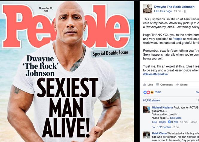 """Il est l""""homme le plus sexy du monde"""""""