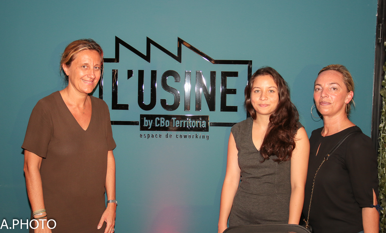 Catherine Galatoire, Emilie Taochy et Carole Navarro