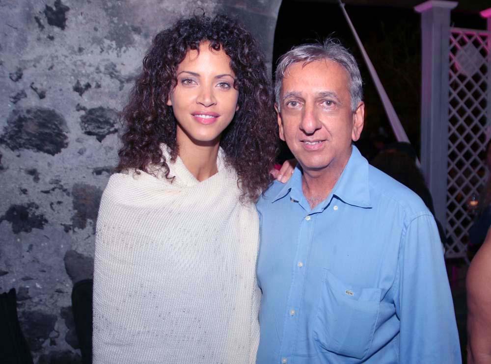 Noémie Lenoir et Aziz Patel
