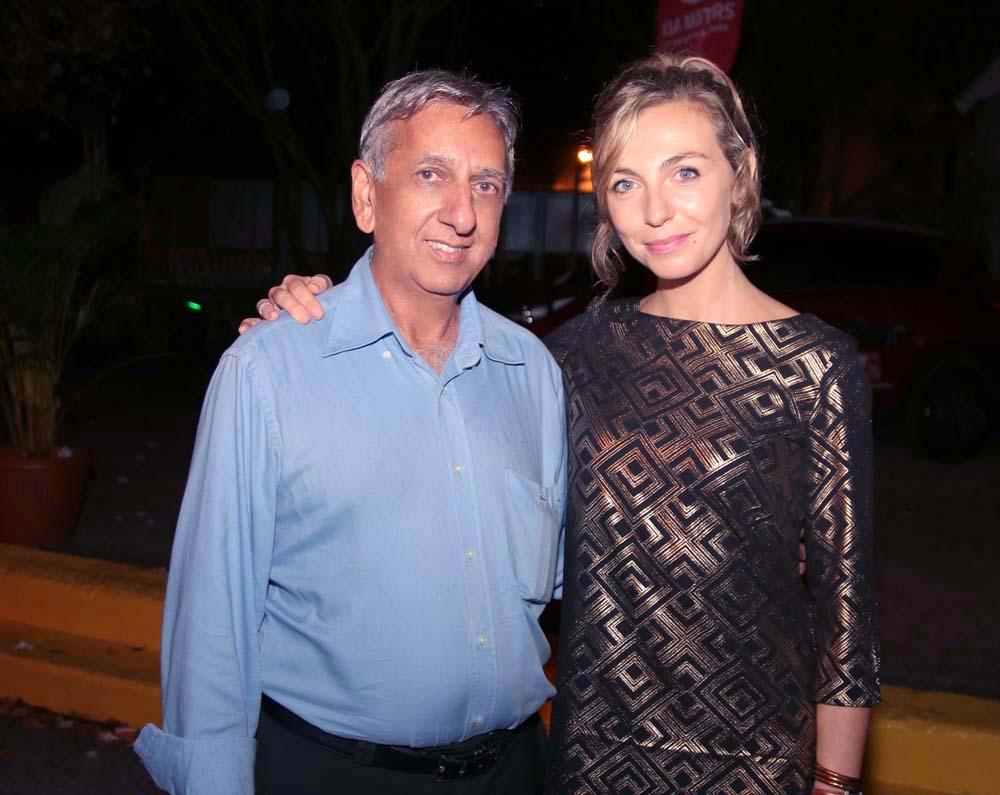 Aziz Patel et Amélie Etasse