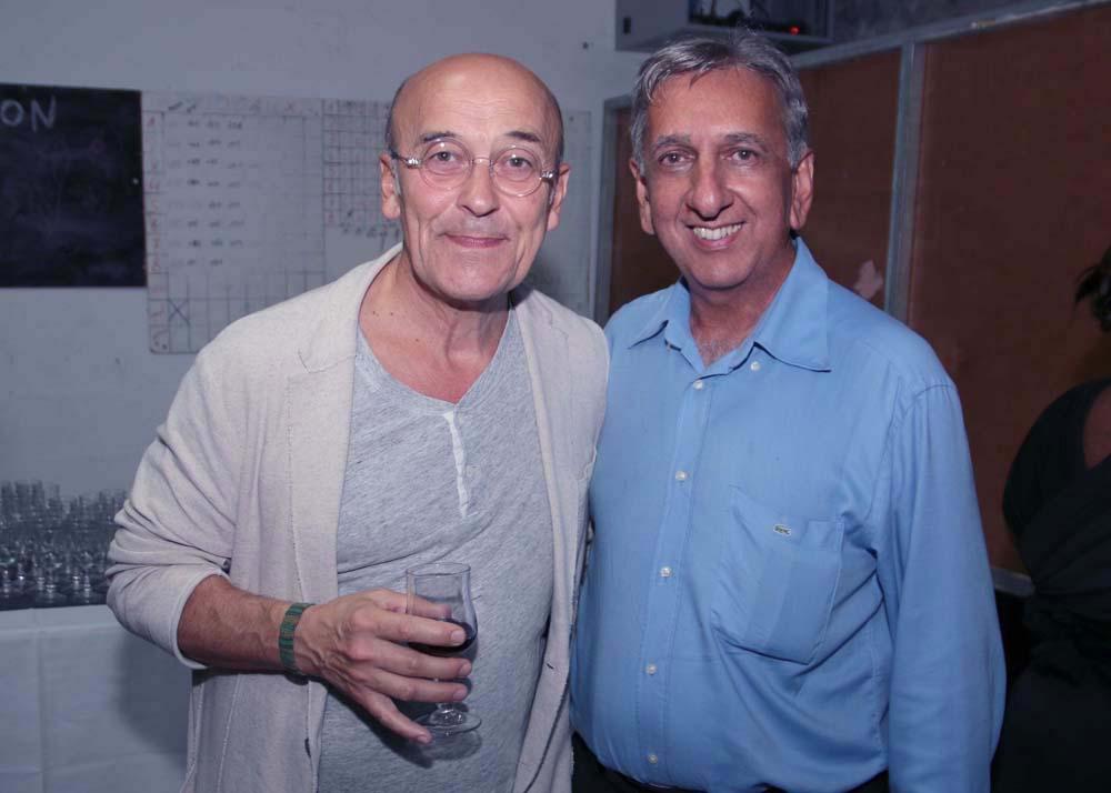 """""""Mr Parisot"""" et Aziz Patel"""