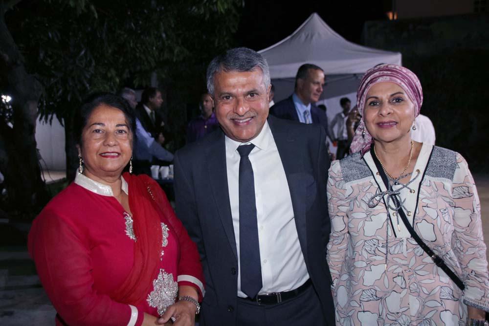 Rabia Badat, Younous Ravate et Abéda Patel