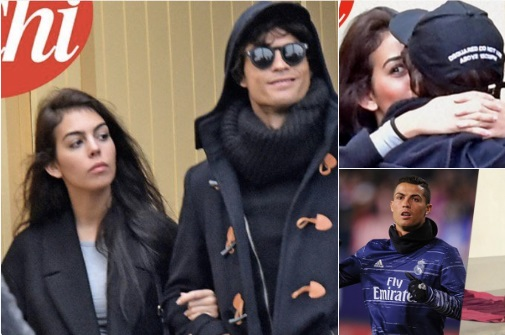 Cristiano Ronaldo incognito avec sa nouvelle conquête à Paris