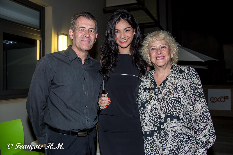 Jean-Michel et Carmen Allié avec Azuima Issa