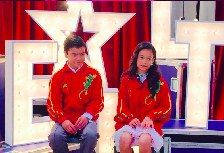 Hugo et Anaïs les petits prodiges Réunionnais, stars de la France a un Incroyable Talent