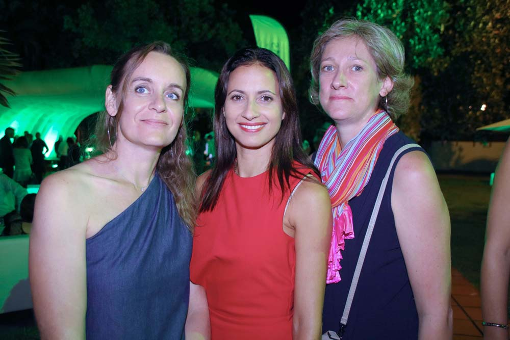 Gaëlle Massol, Directrice de l'agence du Port, Isabelle Garsault, Chargée d'appui commercial, et Florence Cail, Directrice de l'entité Nord