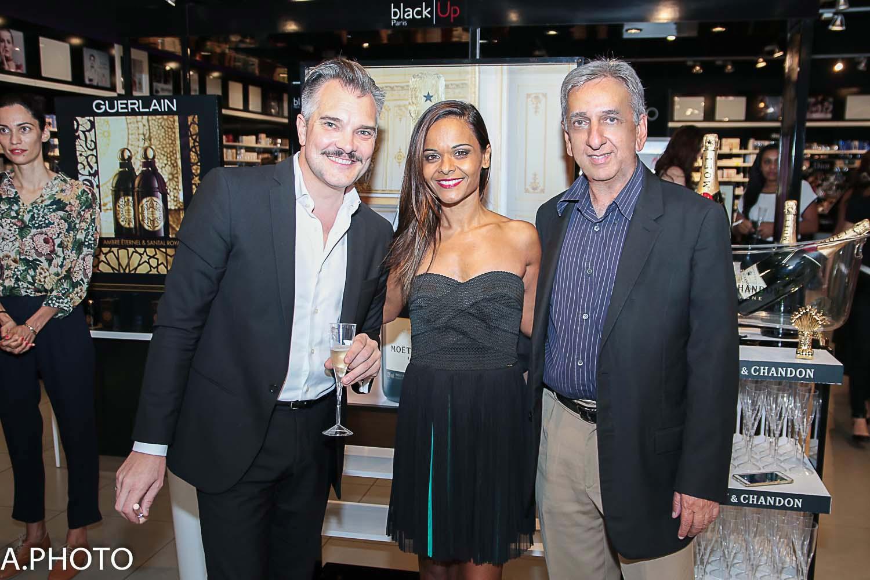José-Luis Yuvé, Jessica Rochecouste de la Sogerep, et Aziz Patel