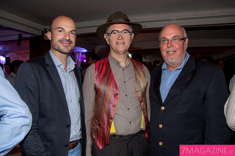Willy Ethève, René-Claude Pestel et Frédéric Foucque