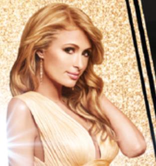 La photo de Paris Hilton qui apparaît sur le visuel de la soirée