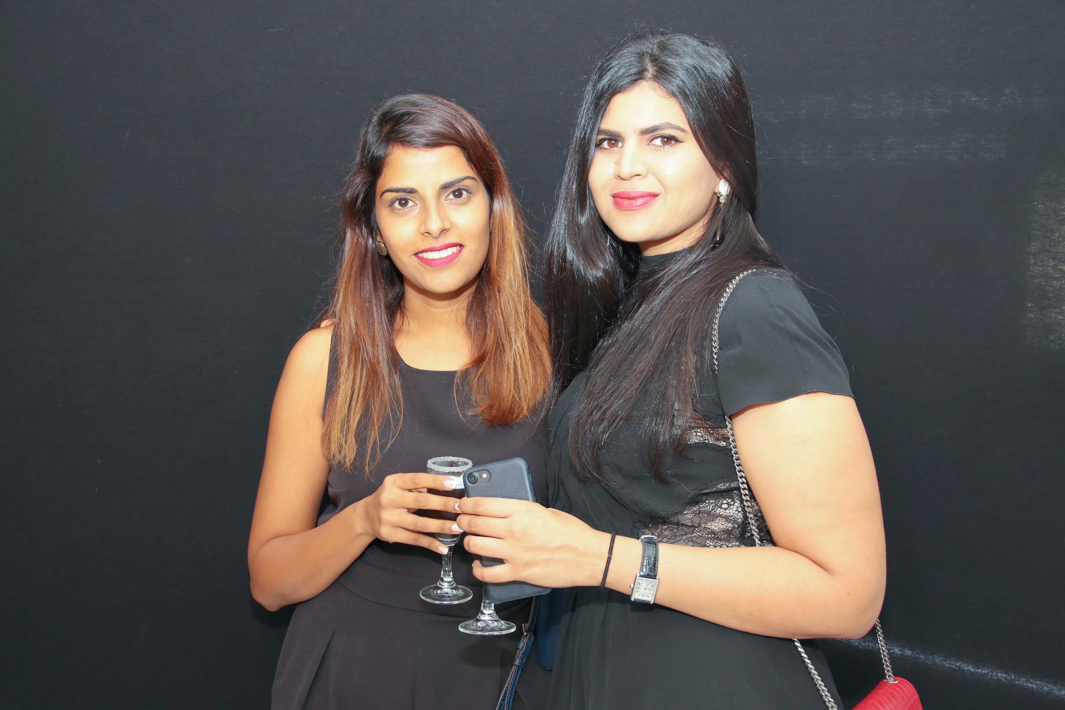 Nassira Issop et son amie